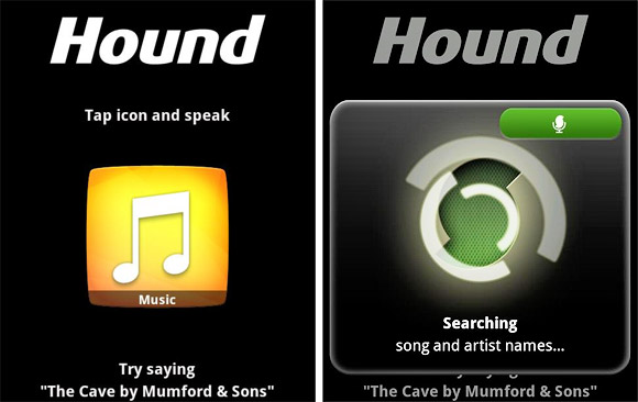 Hound for Android app lets you voice search your favourite acts