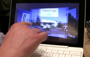 HP's Airlife 100 Android-powered 3G touchscreen smartbook: video