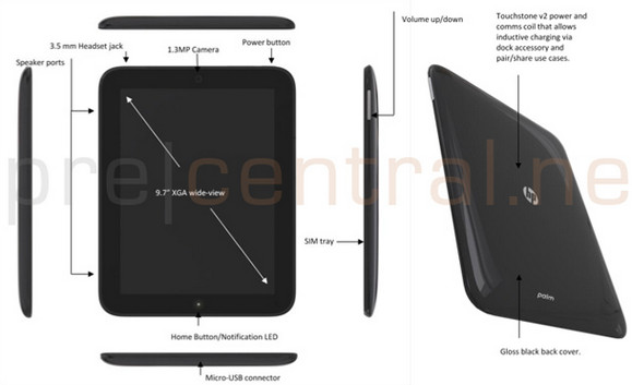 HP Palm Topaz webOS 9.7