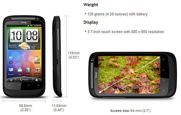 HTC Desire S smartphone spreads more Android goodness