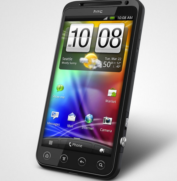 HTC Evo 3D - high end 3D smartphone with HSPA+ - landing in July