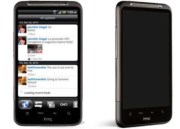HTC Inspire 4G - big, beefy and bountiful - but over there
