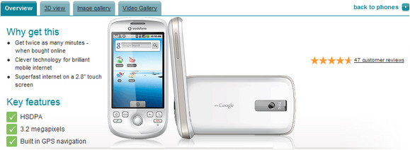 HTC Magic gets Froyo 2.2 update on Vodafone network