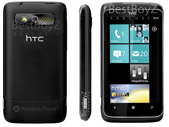 HTC Mondrian Windows Phone 7 handset looks a winner