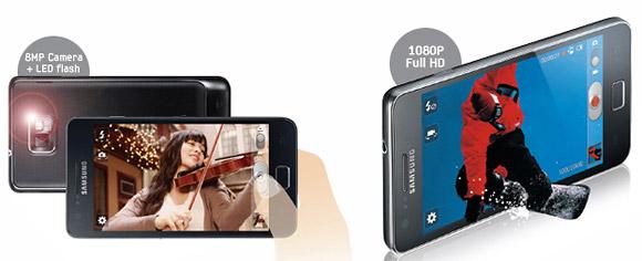 Smartphone smackdown: HTC Sensation versus Samsung Galaxy S II