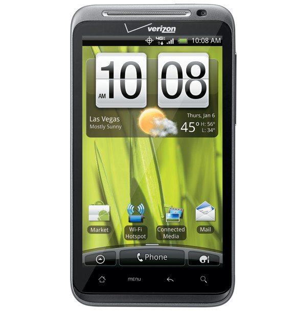 HTC ThunderBolt - the media phone with its own kickstand