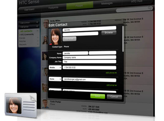 HTCSense.com - remote services for HTC Desire HD and HTC Desire Z handsets