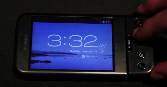 Developers get Ice Cream Sandwich to run on original G1 phone. Why? Because they can.