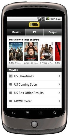 IMDb Movies & TV (for iPhone)