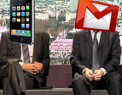 iPhone and Gmail problem with emails not coming through?