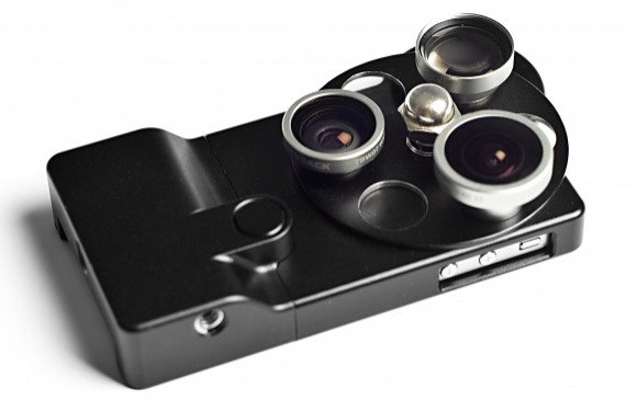 Turn your iPhone into a clunky, unwieldy zoom camera with this $249 Lens Dial attachment