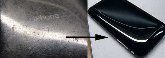 Restore your scratchy iPhone into a gleaming thing of beauty