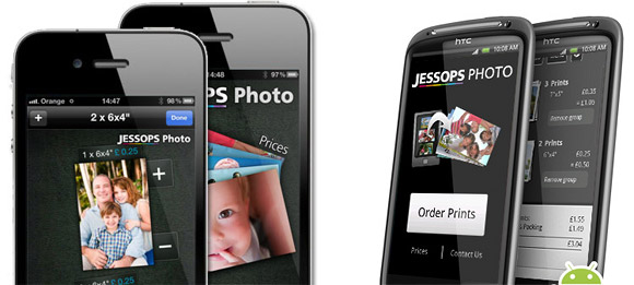 "The Jessops Photo Android App allows you to order 6x4"" and 7x5"" sized prints, that are printed on Fuji paper. The App is free to download from Android Market. Visit Jessops for more information/5."