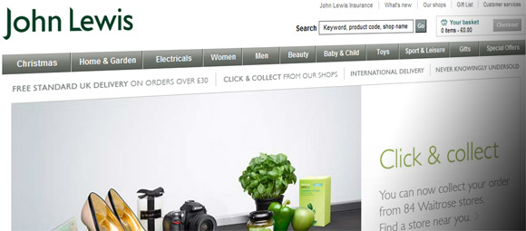John Lewis offers in-store Wi-Fi, invites customers to get price comparing