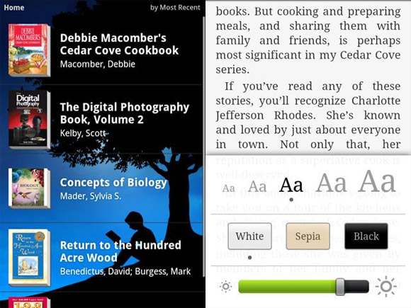 Kindle app now available on Android