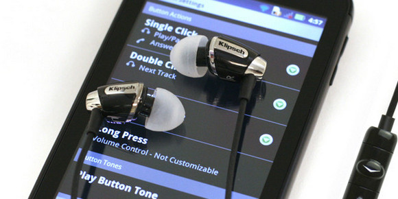 Klipsch Image S4A headphones bring audiophile quality to Android