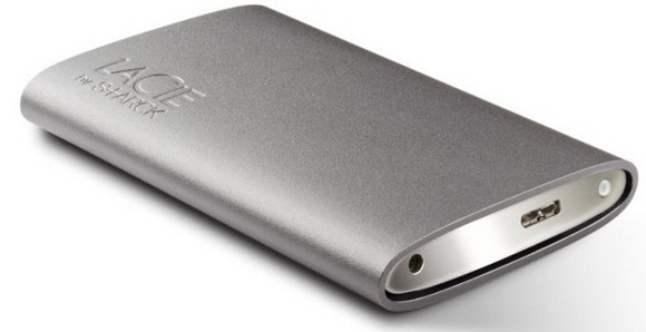 LaCie accelerates stylish Starck Mobile Drive with USB 3.0
