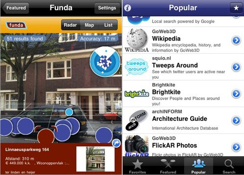 iPhone gets Layar Augmented Reality App