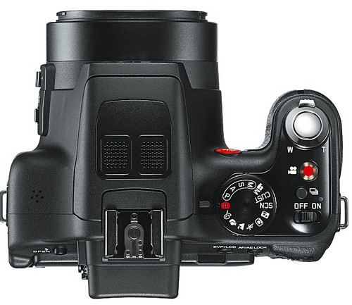 Leica announces the Leica V-Lux 3 for folks who want to pay an extra £250 for a red dot