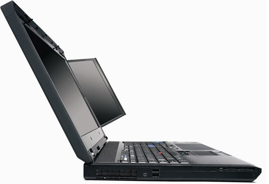 Lenovo ThinkPad twin-screen W701ds workstation: a gadget gourmet's treat