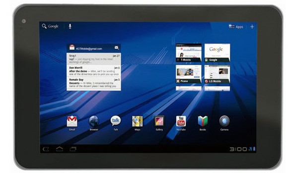 LG Optimus Pad (G-Slate) to pack Honeycomb, Tegra 2 and 3D display
