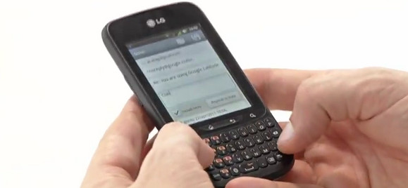 LG Optimus Pro looks to tempt wavering Blackberry users into the land of Gingerbread