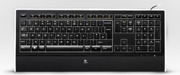 Logitech Illuminated Keyboard lights up our desktop - review