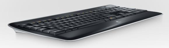 Logitech wireless illuminated keyboard K800 packs glow in the dark goodness