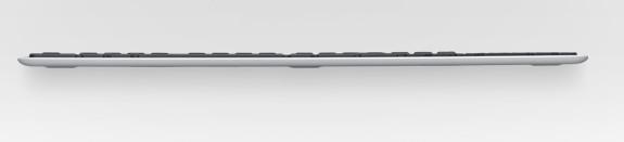 Logitech Wireless Solar keyboard K750 announced