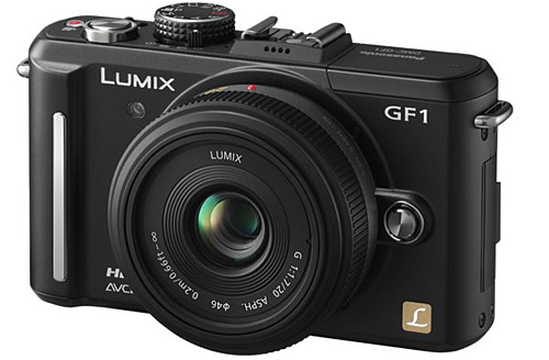 Panasonic Lumix GF1 dSLR: we fill with desire