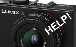 Lumix LX3 firmware update: bad news