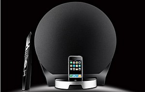 Luna 5 Encore - alien shaped iPod dock by Edifier