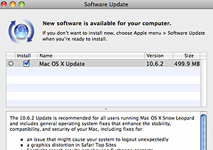 Apple Snow Leopard 10.6.2 update out
