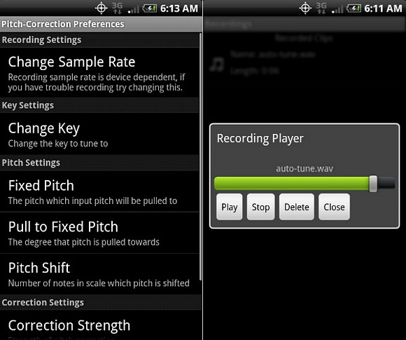 Android MicDroid: annoying Auto Tune app for audio armageddon