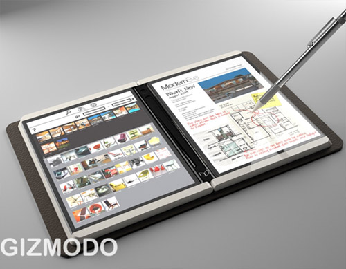 Microsoft's revolutionary new 'Courier' tablet