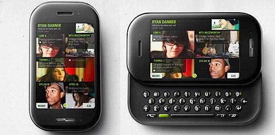 Microsoft Kin One and Kin Two phones