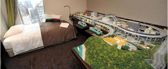 Train Buffs In Heaven As Japanese Hotel Offers In Room