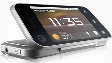 Motorola BACKFLIP Android handset serves up the angles