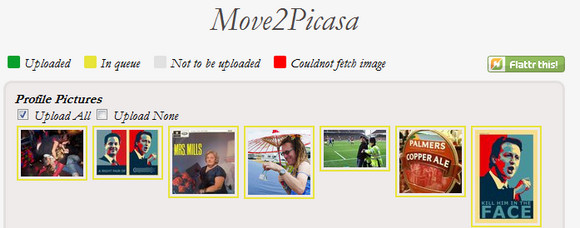 Swiftly shunt your Facebook photos into your Google+ account with Move2Picasa