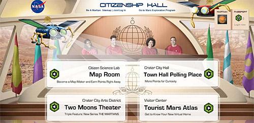 NASA invite you to Be A Martian