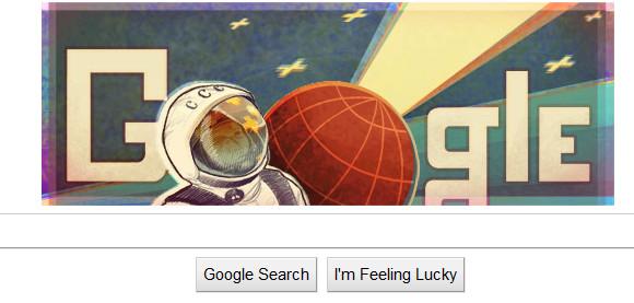 NASA, Google and YouTube honour Yuri Gagarin and the Space Shuttle