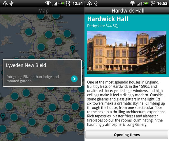 National Trust launches free Android app but it's a reet bloater