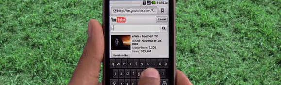 YouTube Mobile gets faster, updated website