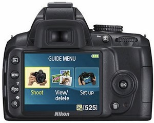Nikon D3000 entry level dSLR gets reviewed, lack of Live View disappoints