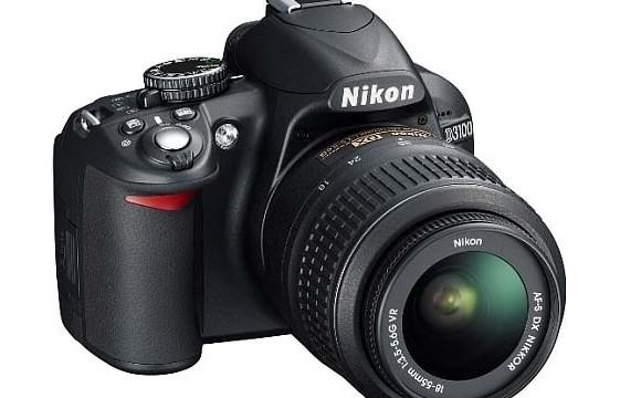 Nikon D3100 SLR - now with £40/€50 cashback
