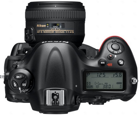 Nikon D4 flagship pro DSLR packs a delicious, full-frame 16.2MP sensor