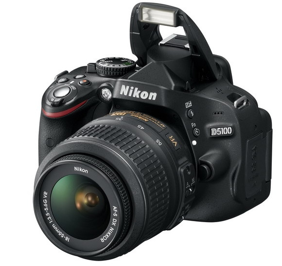 Nikon D5100 16.2MP dSLR comes with 1080p video recording