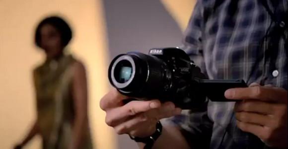 Nikon shoots its D5100 TV commercial - on a Nikon D5100. Crazy!