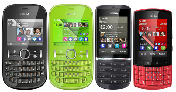 Say hello to Nokia's affordable 'Asha' family of Series 40 phones
