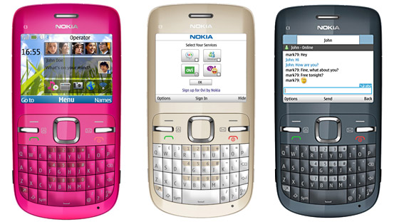 Nokia C3 budget smartphone for QWERTY buffs